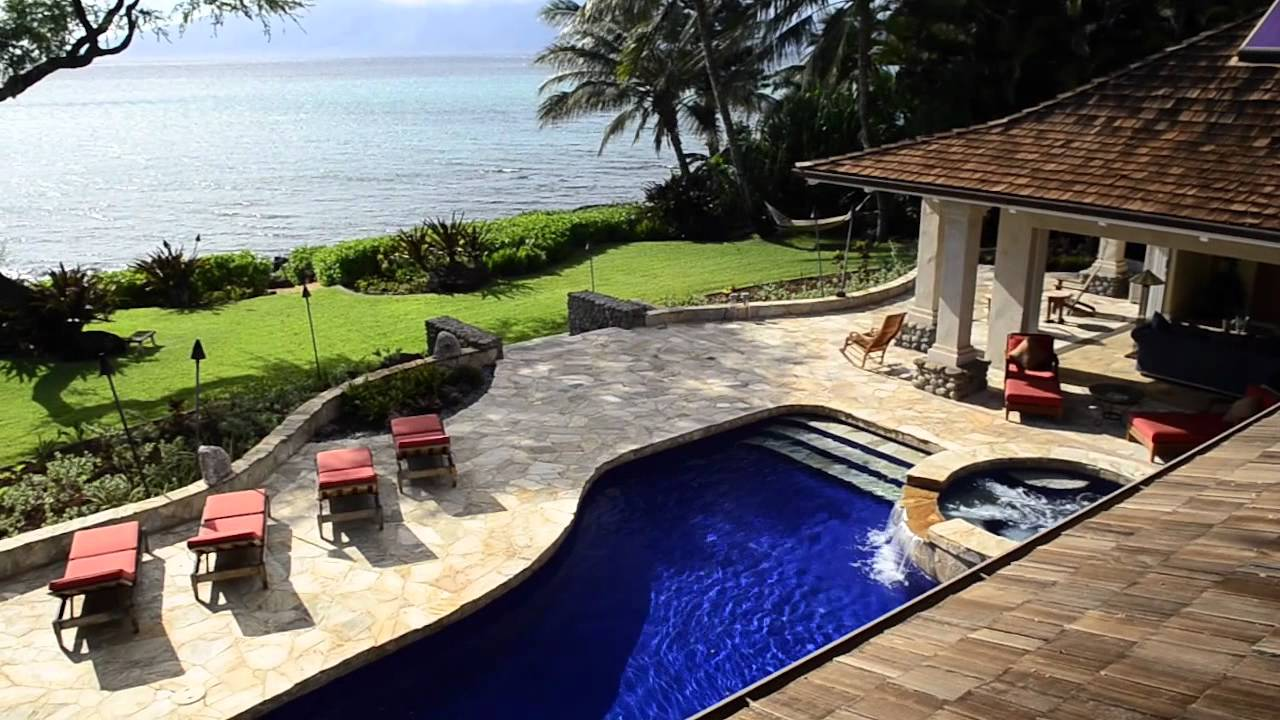 Spectacular Gated Oceanfront – Maui Estates International LLC.