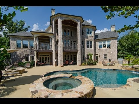 Million Dollar Luxury Home in Atlanta- 4935 Sprice Bluff
