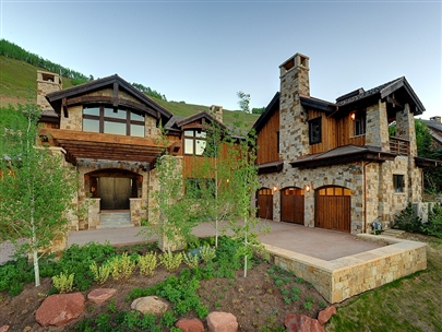 Slopeside Mountain Contemporary Masterpiece