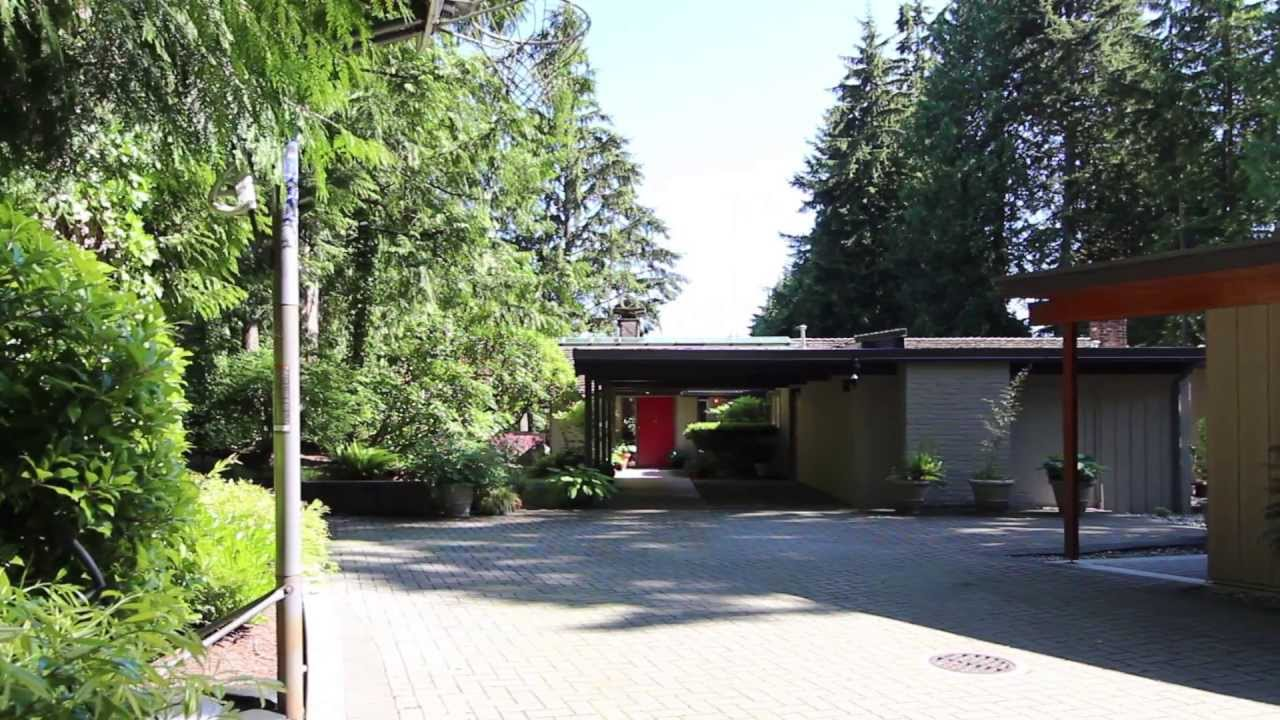 Uniquely Designed West Van Home