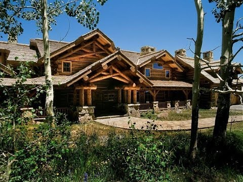 Castlewood Estate – Custom Log Home