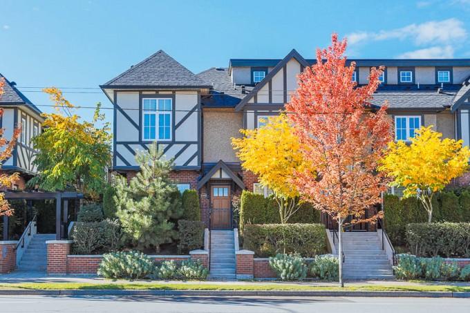 Tudor Style Townhome – 6189 Oak Street
