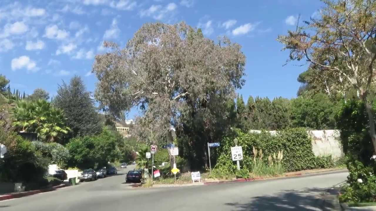 Tour Sunset Plaza Dr – Sunset Strip Area