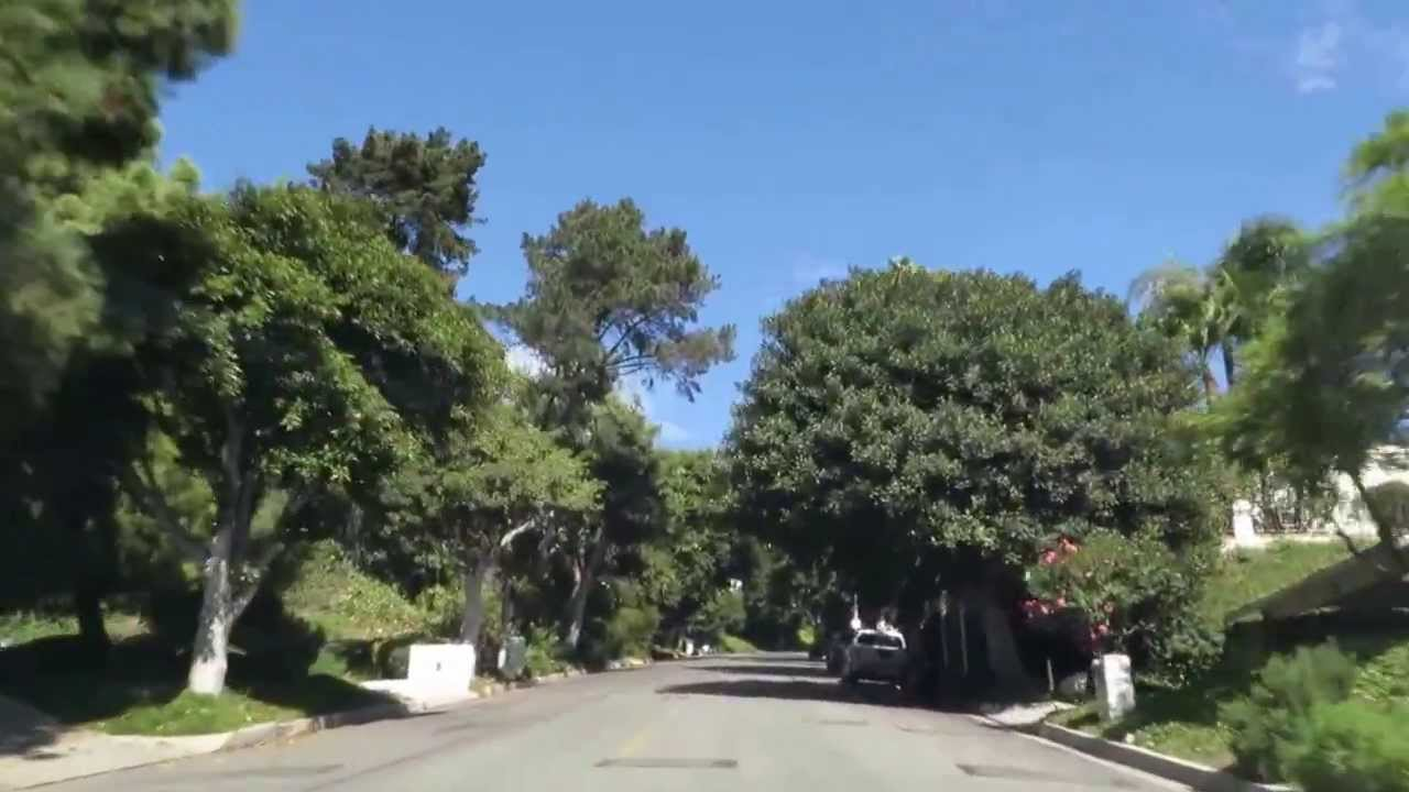 Driving Tour – Hillcrest Drive – Trousdale Estates