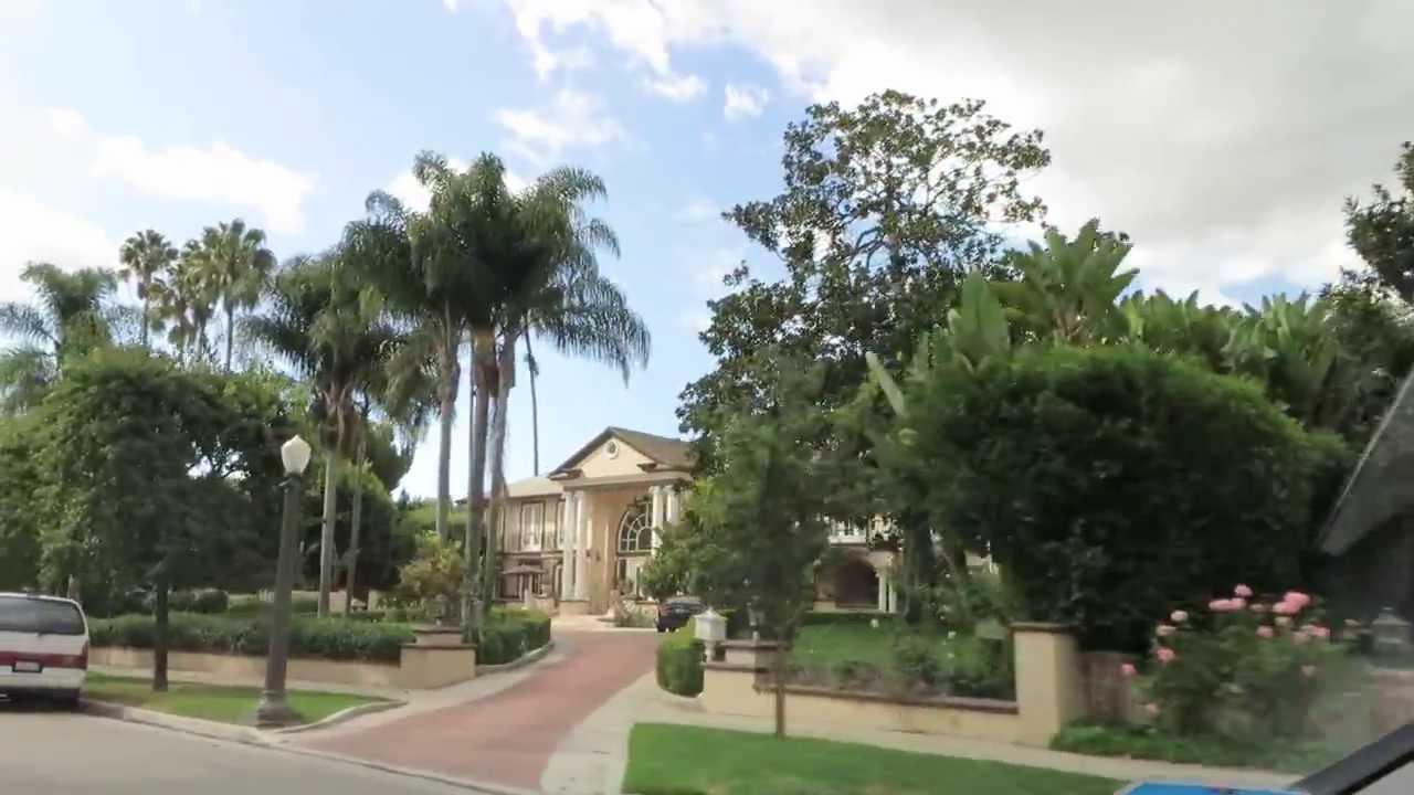 Driving Tour – Fremont Place – Hancock Park – LA