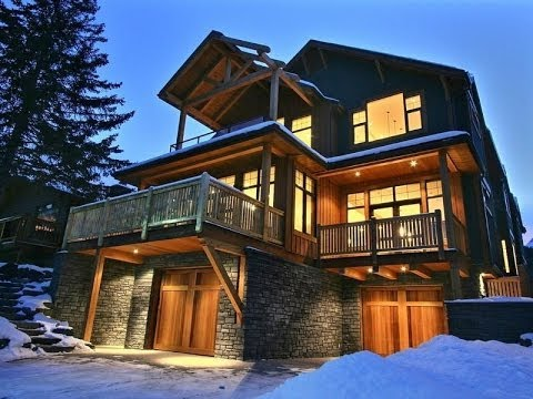 Modern & Rustic Fusion – Custom Built Banff Home