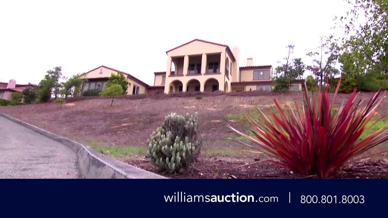 Luxury Home Auction – 411 Mirador Ct