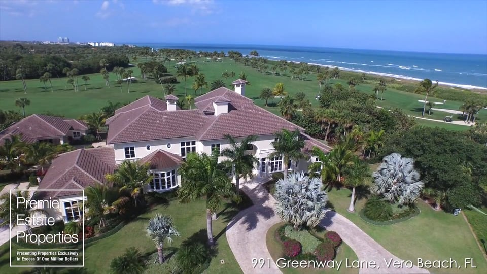 New Oceanview Fairway Estate