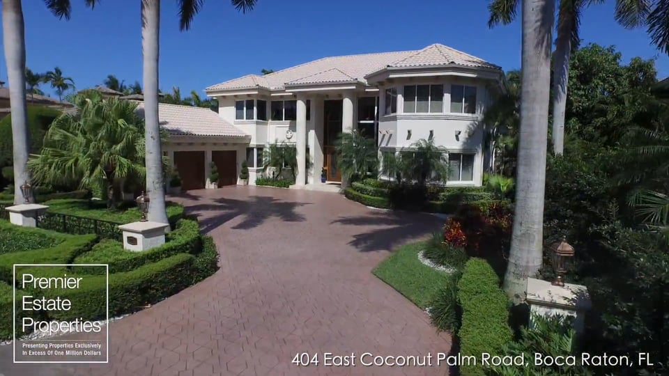 Stylish Ocean To Intracoastal Estate