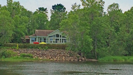 One-Owner Ranch on 4 Scenic Waterfront Acres