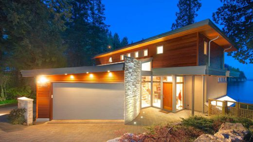 World Class Contemporary Waterfront - 6780 Batchelor Bay Place