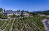 Private Napa Valley View Vineyard Estate – 1050 Olive Hill Lane