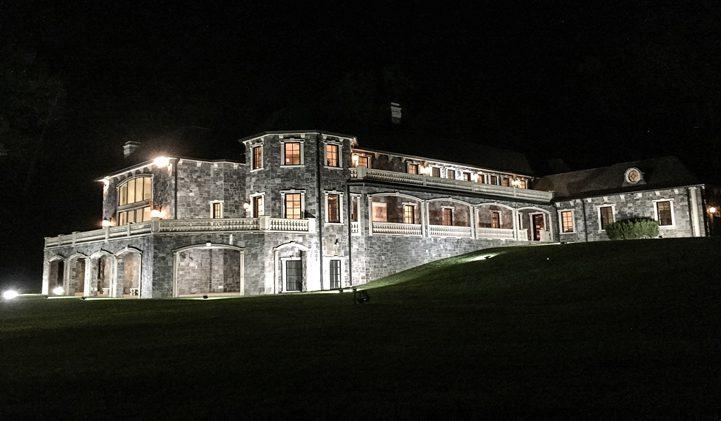 Palatial Stone Mansion
