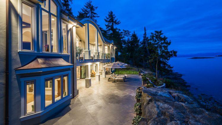 Exclusive Nanoose Bay Oceanfront Estate