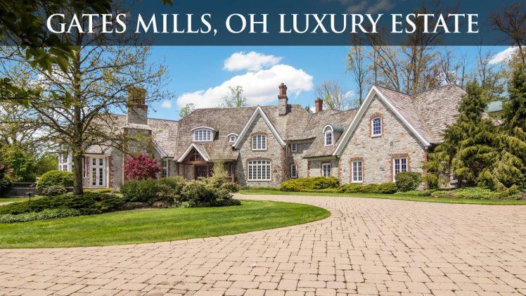 Gates Mills, OH Luxury Estate Auction July 17