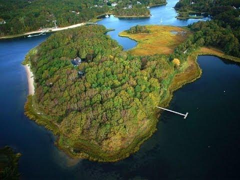 Private Ten Acre Island Estate