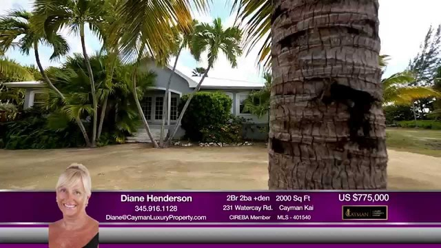 Cayman Kai Canalfront Home