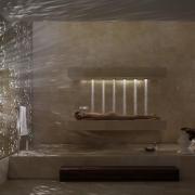 Unique Shower Bed