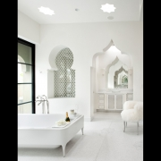 White Styled Bathroom