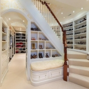 Stunning Lower Level Closet