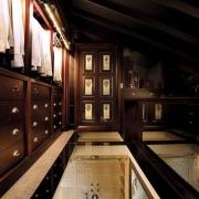 Luxury Closet with Transparent Flooring