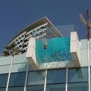 Cliff-Hanging Lap Pool