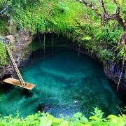 Private natural swimming pool