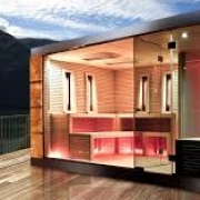Cube Luxury Sauna