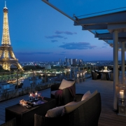 Shangri La Hotel in Paris
