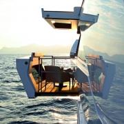 Yacht Lounging