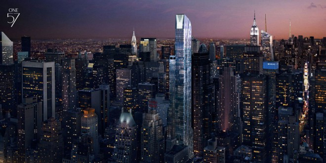 $100 Million One57 Penthouse Breaks NYC Record