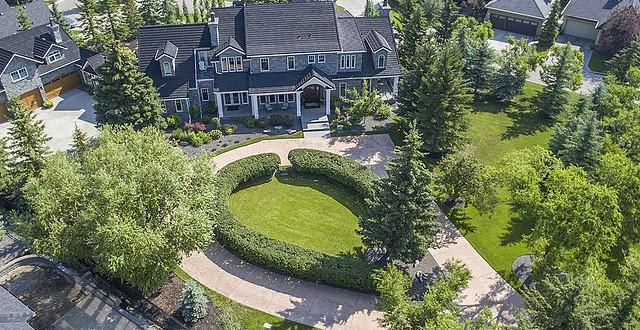 $12.25 Million Manor Sets Six-Year Calgary Real Estate Record