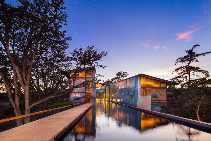 Contemporary Victoria Waterfront Home