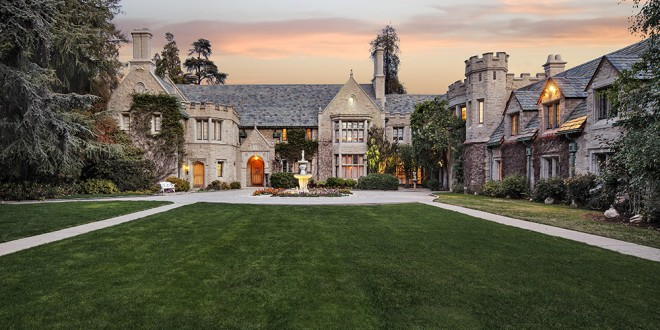 Playboy Mansion Lists for $200 Million, Includes Unique Roommate