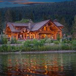 Timber King's Log Home Masterpiece
