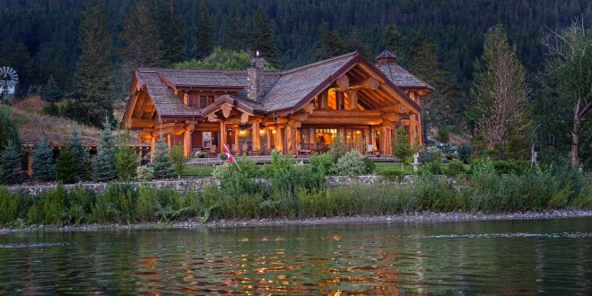Timber Kings Log Home Masterpiece LuxuryHomescom