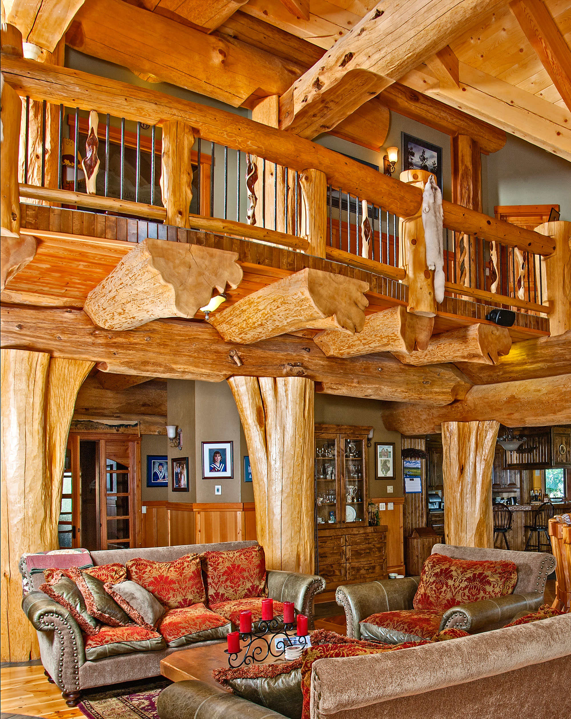 Timber King S Log Home Masterpiece Luxuryhomes Com