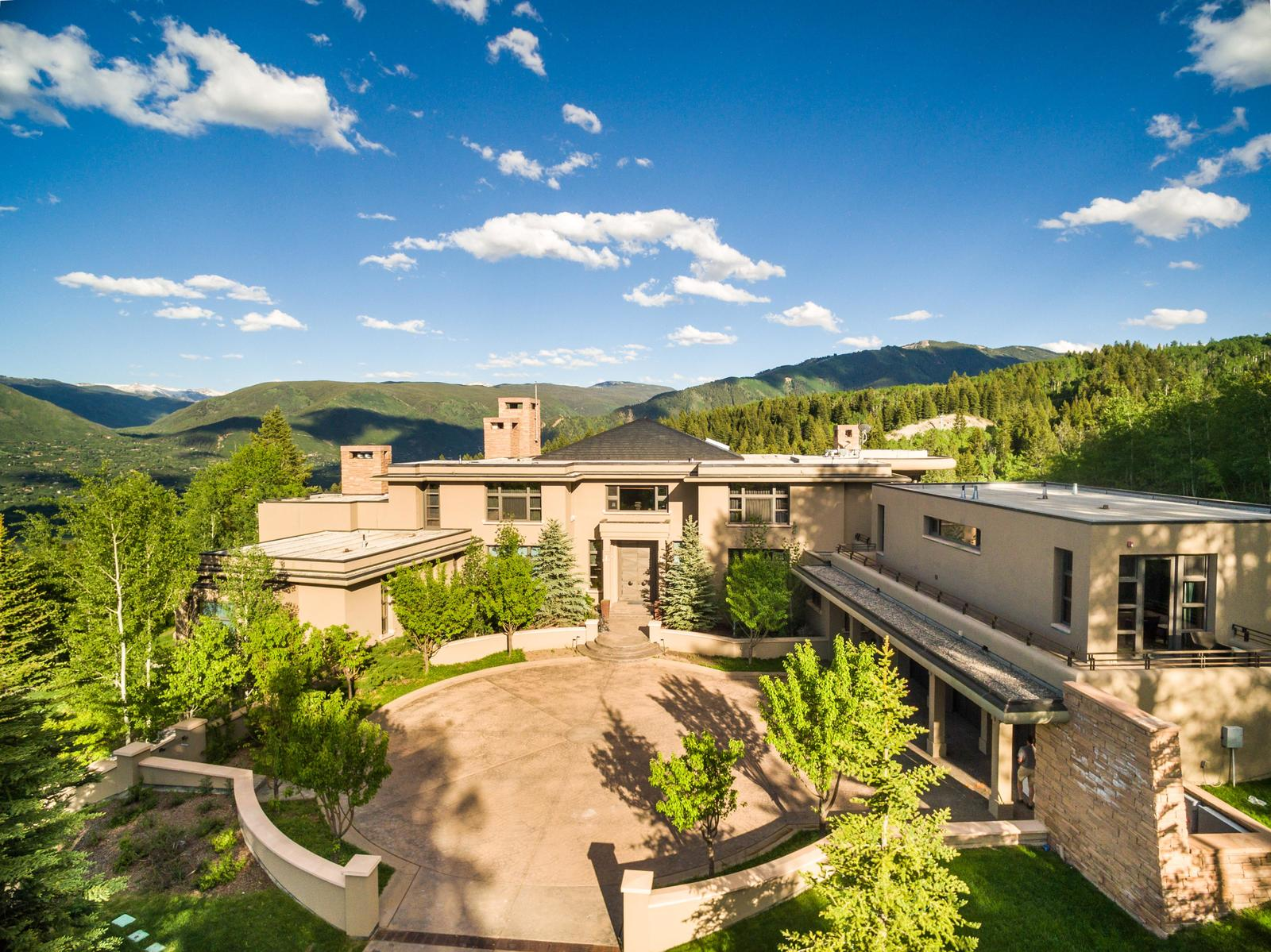 28 18 stunning custom mountain home custom estate for Custom mountain homes