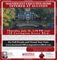 Marvelous Executive Home At Auction