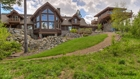 Luxury Log Cabin Style Home with Panoramic Mountain Views - SOLD