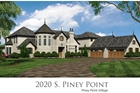 'CHATEAU POINT' 2020 S. Piney Point Village, New Construction