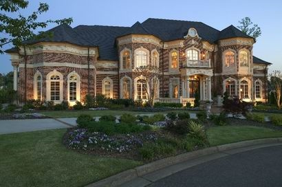 Luxury homes details for luxurious estate lake windward for South georgia home builders