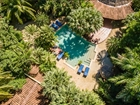 Popular 22 Unit Tamarindo Tropical Boutique Hotel W Pool, Bar And Restaurant!