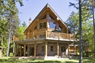 Hand-Crafted Log Home