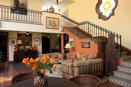 Luxury Homes Details For Hacienda Style In Exclusive Enclave