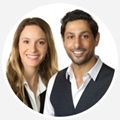 Erez Henya, Sales Representative, and Adi Henya, Sales Representative