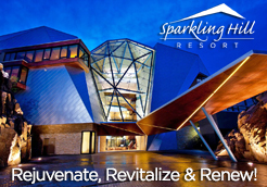 Sparkling Hill - Sparkling Hill Resort is the first in the world to integrate 3.5 million Swarovski crystal elements