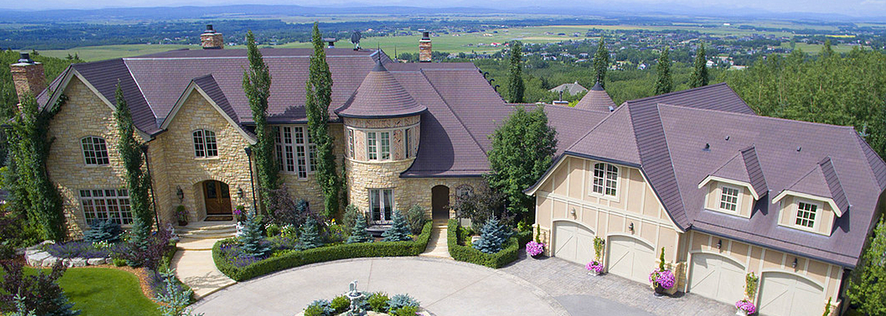 gated extraordinary French chateau Calgary Alberta luxury-homes